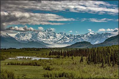 Photograph - Knik Glacier by Erika Fawcett