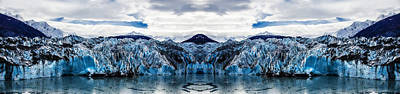Fantasy Royalty-Free and Rights-Managed Images - Knik Glacier Reflection by Pelo Blanco Photo
