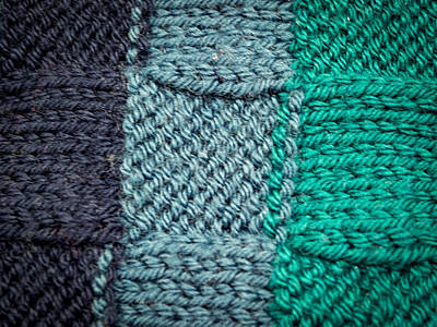 Photograph - Knitting Detail by Jean Noren