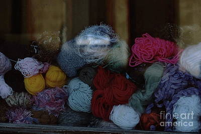 Photograph - Knitting Wool by Dariusz Gudowicz
