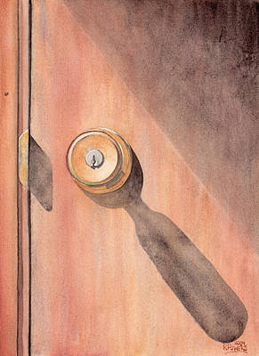 Painting - Knob And Shadow by Ken Powers