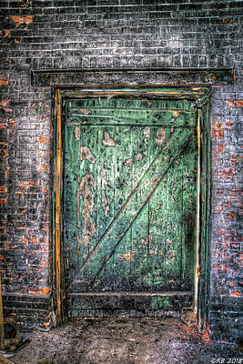 Photograph - Knock And It Shall Be Open by Richard Bean