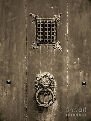 Belguim Wall Art - Photograph - Knock Knock by Lexa Harpell