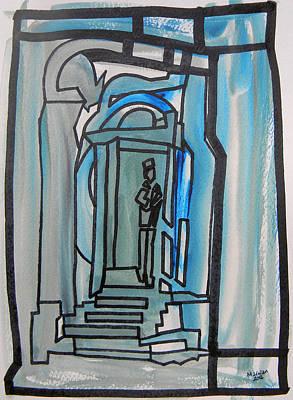 Knocking On Heaven's Door Art Print