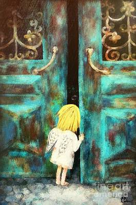 Knocking On Heaven's Door Art Print