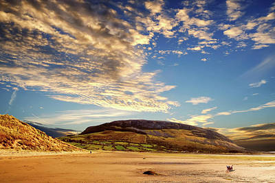 Digital Art - Knocknarae From Culleenamore Beach by John Carver