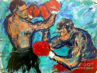 Painting - Knockout Punch by Mark Macko