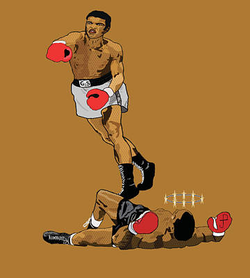 Knockout Painting - Knockout Tko Pop Art by Paul  Arm