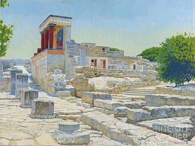 Knossos. Crete Original by Simon Kozhin