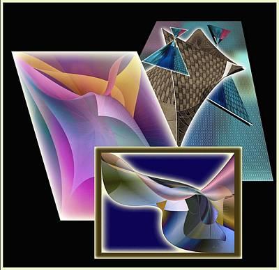 Digital Art - Knotted Collage by Iris Gelbart