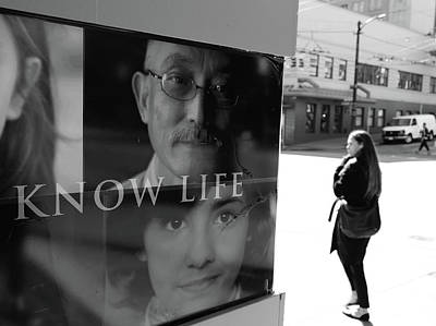 Photograph - Know Life  by The Artist Project