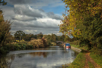 Canal Photograph - Knowle Canals by Chris Fletcher