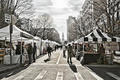 Photograph - Knoxville Farmers Market by Sharon Popek