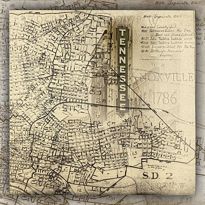 Photograph - Knoxville Tennessee 1786 by Sharon Popek