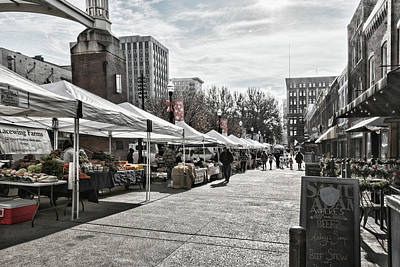 Photograph - Knoxville Winter Market by Sharon Popek