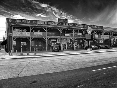 Photograph - Knuckle Saloon Sturgis by Richard Wiggins