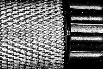 Photograph - Knurled by SR Green