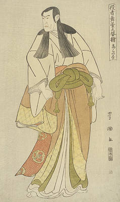 Japan Drawing - Ko Raiya by Utagawa Toyokuni