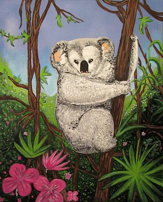 Koala Mixed Media - Koala by Adam Santana