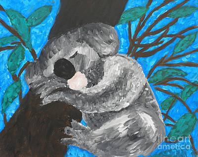 Painting - Koala by Kristen Diefenbach