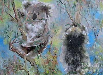 Painting - Koalas by Ryn Shell