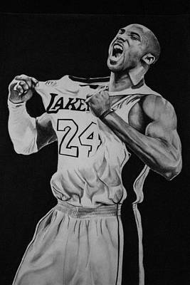 Kobe Bryant  Original by Carley Schiele