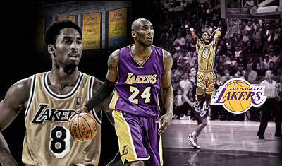 Digital Art - Kobe Bryant Nba Legend by Nicholas Legault