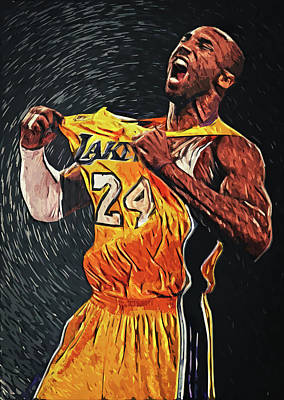 Athletes Rights Managed Images - Kobe Bryant Royalty-Free Image by Zapista Zapista