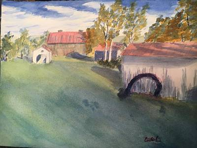 Painting - Kocher Farm by David Bartsch
