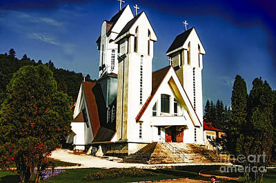 Photograph - Kodachrome Church by Rick Bragan