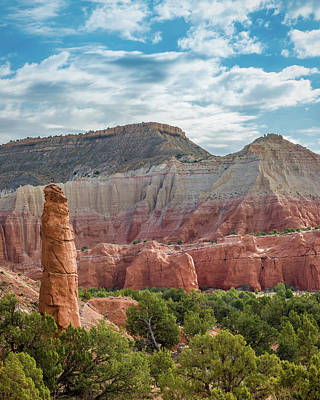 Kodachrome Basin Photograph - Kodachrome Postcard by Joseph Smith