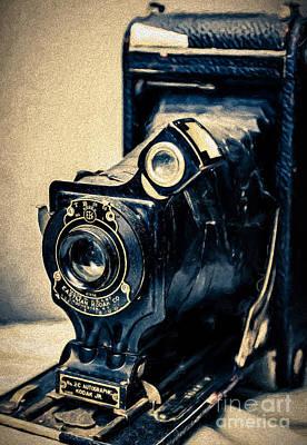 Photograph - Kodak 2c Autographic Jr by Kathleen K Parker