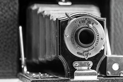 Photograph - Kodak Brownie No 2 by Irwin Seidman