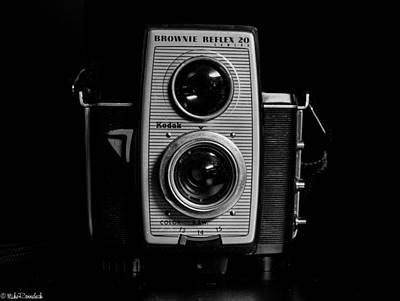 Kodak Brownie Reflex 20 Camera Art Print