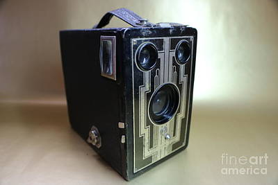 Rewind Photograph - Kodak Brownie Six-16  by Erick Schmidt