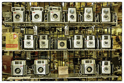 Photograph - Kodak Brownies by Mike Martin