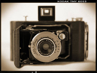 Bellows Photograph - Kodak Diomatic by Mike McGlothlen