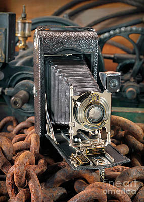 Photograph - Kodak No. 3a Autographic Camera by Martin Konopacki