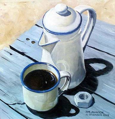 Painting - Koffie by Tim Johnson