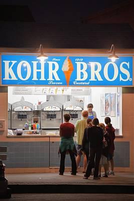 Photograph - Kohrs Bros - Rehoboth Beach Delaware by Kim Bemis