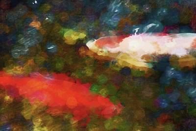Photograph - Koi 24 by Pamela Cooper