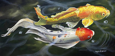 Painting - Koi 3 by Phyllis Beiser