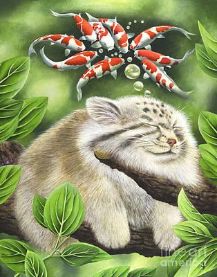 Koi Dreaming Art Print