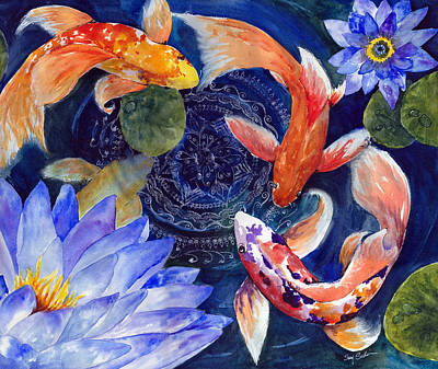 Koi For My Soul Original by Susy Soulies