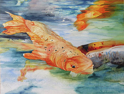 Painting - Koi I by Teresa Beyer