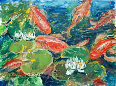 Painting - Koi by Ingrid Dohm