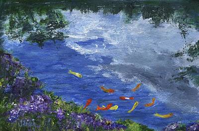Painting - Koi by Jamie Frier