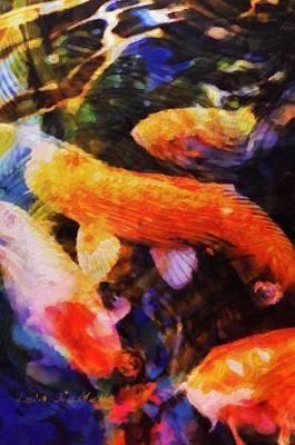 Painting - Koi No. 2 by Lelia DeMello