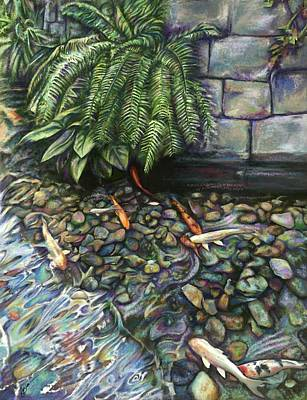 Koi Digital Art - Koi Of Gaylord Palms Resort by Julianne Black