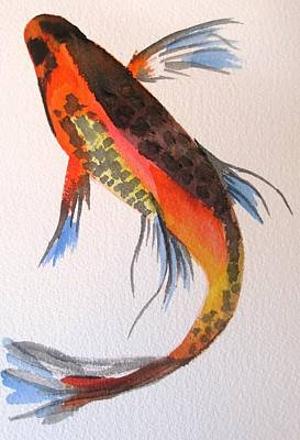 Painting - Koi Part One by Sacha Grossel